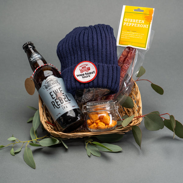 Munchies Beanie Hamper by Wee Toast Tours
