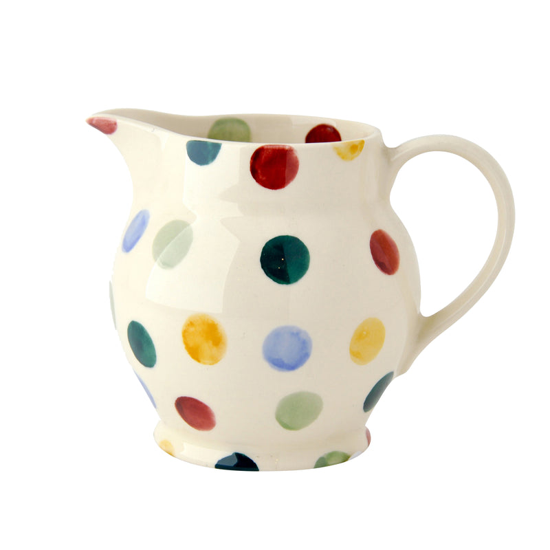 Polka Dot Half Pint Milk or Custard Jug by Emma Bridgewater