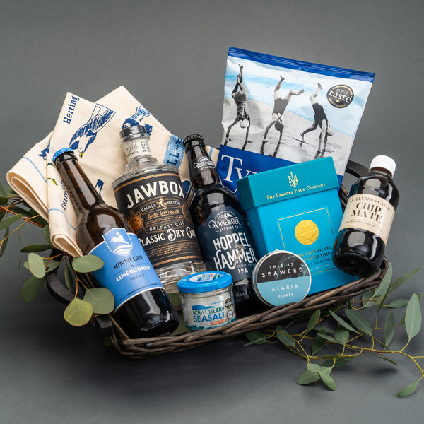 Seaside Picnic in Ireland Hamper by Wee Toast Tours