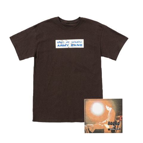Sound of the Police T-Shirt + CD Bundle