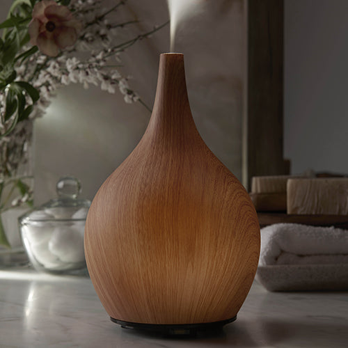 Faux Wood Air Purifying Ultrasonic Diffuser Earth Luxe