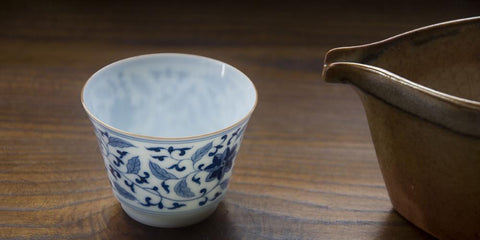The Cup of the Endless Lotus | Handmade Tea Cup