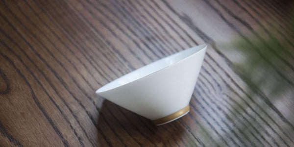 The Bamboo Hat with the Golden Foot | Handmade Tea Cup