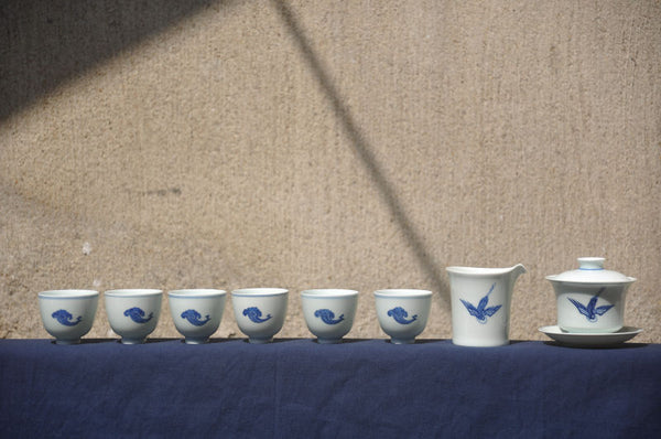 The Crane | Handmade Tea Set