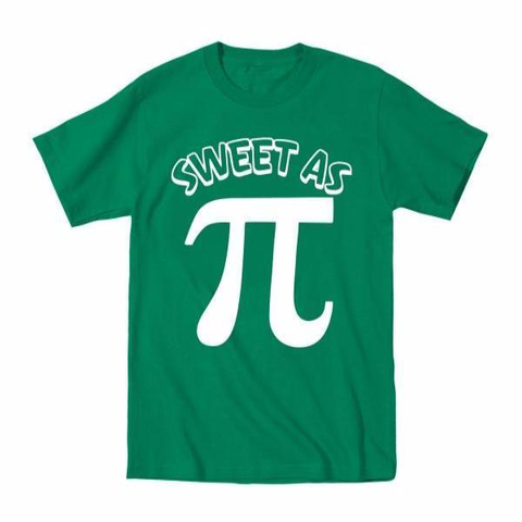 Sweet As Pi Toddler T-Shirt
