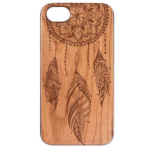 Dream Catcher Wood Phone Case - Lucas Gadgets