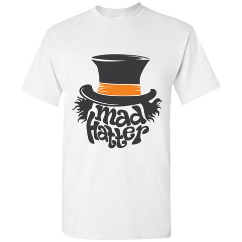 Image of Mad Hatter Top Hat T-shirt - Lucas Gadgets