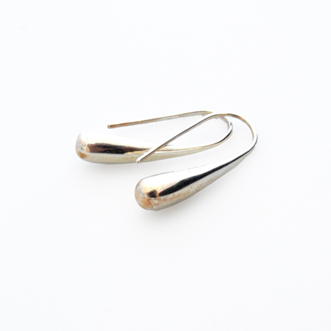Minoa Sterling Silver Drop Earrings - Lucas Gadgets