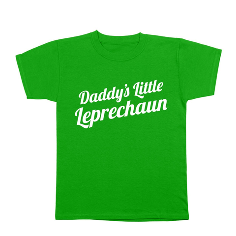 Daddys Little Leprechaun Toddler T-Shirt - Lucas Gadgets