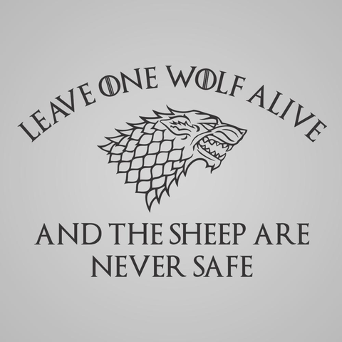 Image of Don't Leave A Wolf Alive - Lucas Gadgets