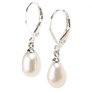 Misty Pearl Drop Earrings - Lucas Gadgets