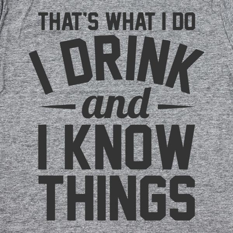 Image of Drink And Know Things - Lucas Gadgets