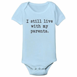 I Still Live With My Parents Baby One Piece - Lucas Gadgets