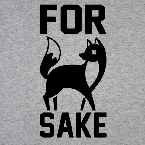 Image of For Fox Sake Men's Tri-Blend T-Shirt - Lucas Gadgets