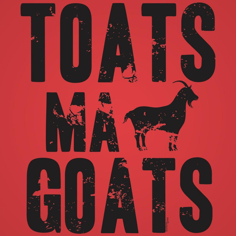 Image of Toats Ma Goats Men's T-Shirt