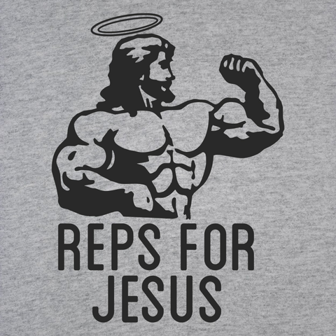 Image of Reps Jesus Men's T-Shirt - Lucas Gadgets