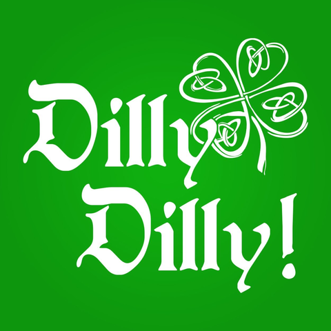 Image of Irish Dilly Dilly Men's T-Shirt - Lucas Gadgets
