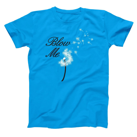 Image of Blow Me Flower Men's T-Shirt - Lucas Gadgets