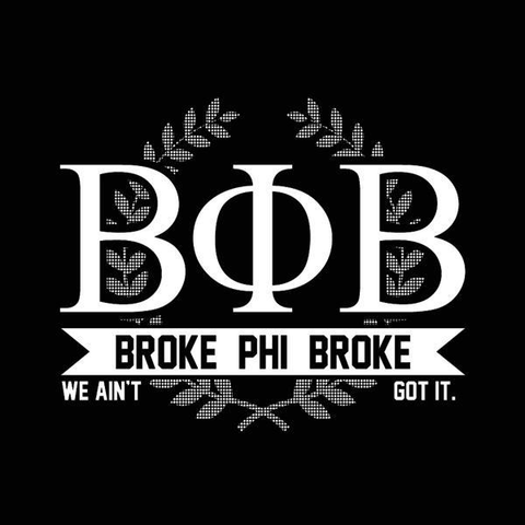 Image of Broke Phi Broke Women's Jr Fit T-Shirt - Lucas Gadgets