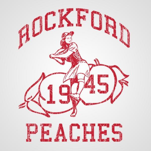 Image of Rockford Peaches Men's T-Shirt