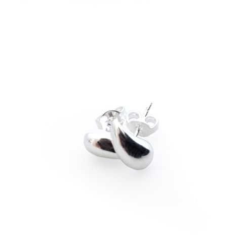 Image of Minoa Sterling Silver Teardrop Earrings - Lucas Gadgets
