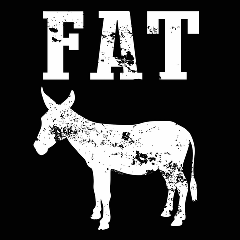 Image of Fat Men's T-Shirt - Lucas Gadgets