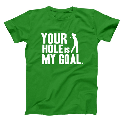 Image of Hole Is My Goal Men's T-Shirt - Lucas Gadgets