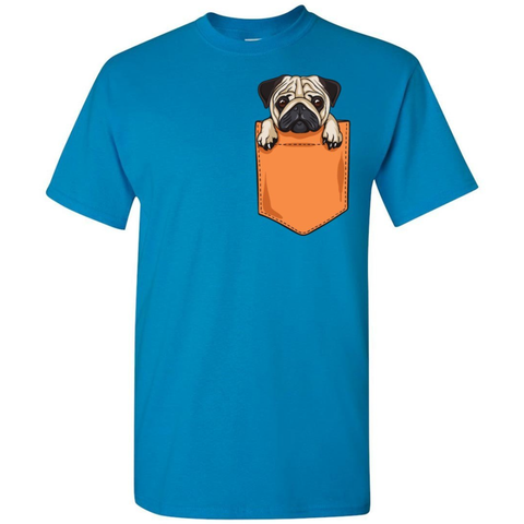 Image of Pug Pocket Tee - Lucas Gadgets