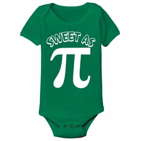 Sweet As Pi Baby One Piece