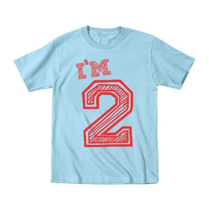 I'm 2 Birthday Toddler T-Shirt - Lucas Gadgets