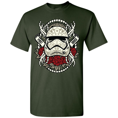 Image of First Order Storm Trooper Sugar Skull Tee - Lucas Gadgets