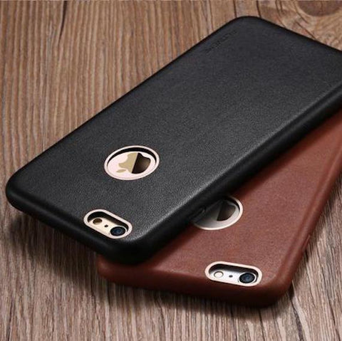 Image of FLOVEME Leather Case For iPhone - Lucas Gadgets