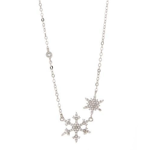 Star Gazer Sterling Silver Necklace