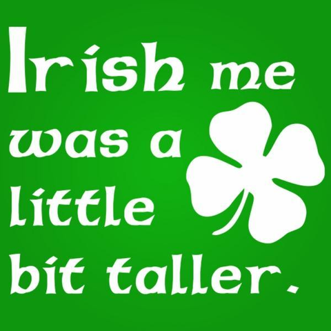 Image of Irish Me Taller (Kids) Toddler T-Shirt - Lucas Gadgets