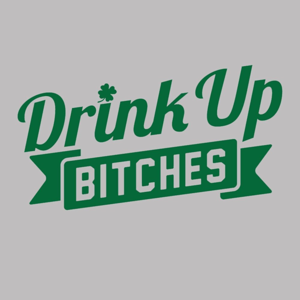 Drink Up Bitches Women's Relaxed Fit V-Neck Tri-Blend T-Shirt - Lucas Gadgets