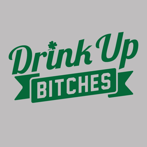 Image of Drink Up Bitches Women's Relaxed Fit V-Neck Tri-Blend T-Shirt - Lucas Gadgets