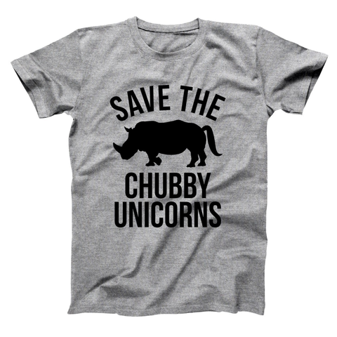Image of Save The Chubby Unicorns Men's T-Shirt
