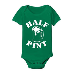 Irish Half Pint Baby One Piece - Lucas Gadgets