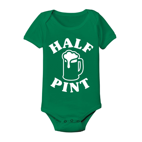 Image of Irish Half Pint Baby One Piece - Lucas Gadgets