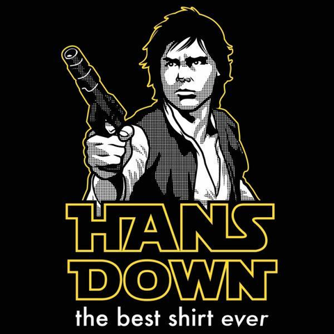 Image of Hans Down The Best Shirt Ever Tank Top - Lucas Gadgets