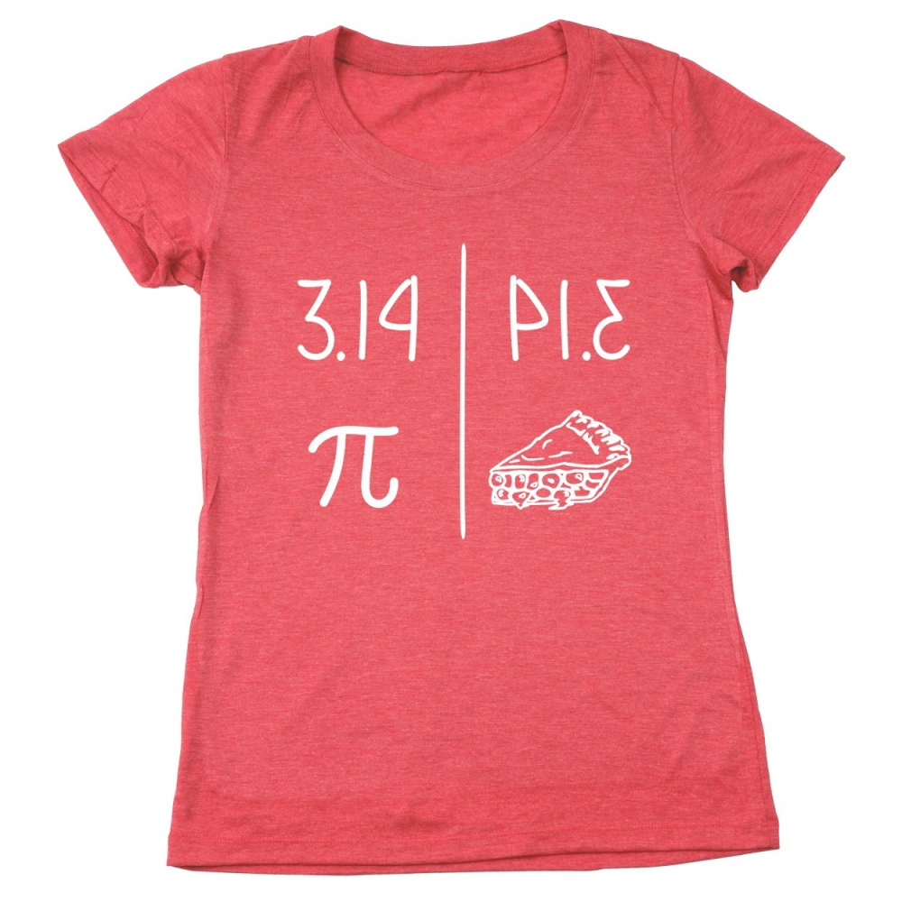 3.14 Pie Women's Relaxed Fit T-Shirt - Lucas Gadgets
