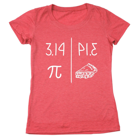 Image of 3.14 Pie Women's Relaxed Fit T-Shirt - Lucas Gadgets
