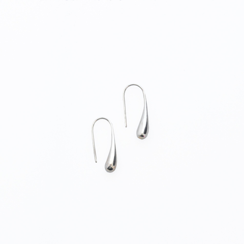 Image of Minoa Sterling Silver Drop Earrings - Lucas Gadgets
