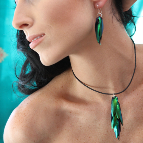 Jewel Wing Earrings - Lucas Gadgets