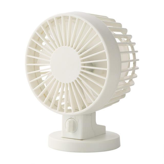 Ultra-Quiet Mini USB Desk Fan - Lucas Gadgets