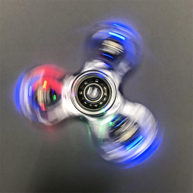 Luminous LED Fidget Spinner - Lucas Gadgets