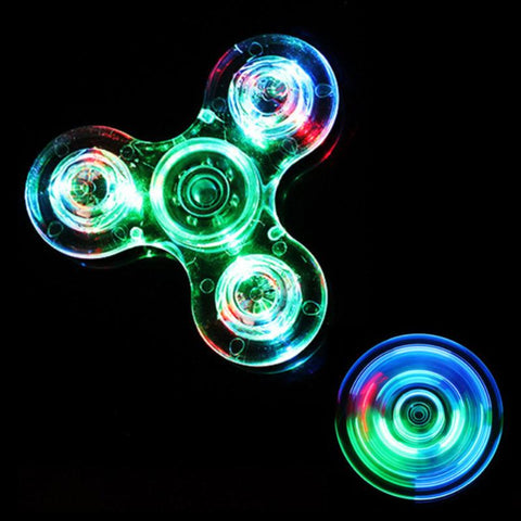 Image of Luminous LED Fidget Spinner - Lucas Gadgets
