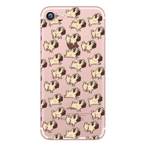 Funky Pug Soft Case For iPhone - Lucas Gadgets