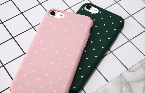 Image of Polka Dot iPhone Case - Lucas Gadgets