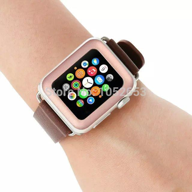 Rose Gold Tempered Glass Screen Protector For Apple Watch - Lucas Gadgets